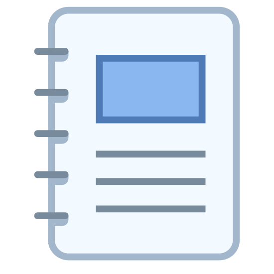 Spiral Bound Booklet icon