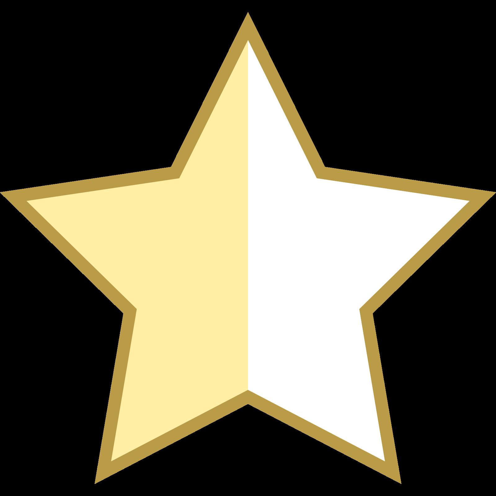 Star Half Empty icon