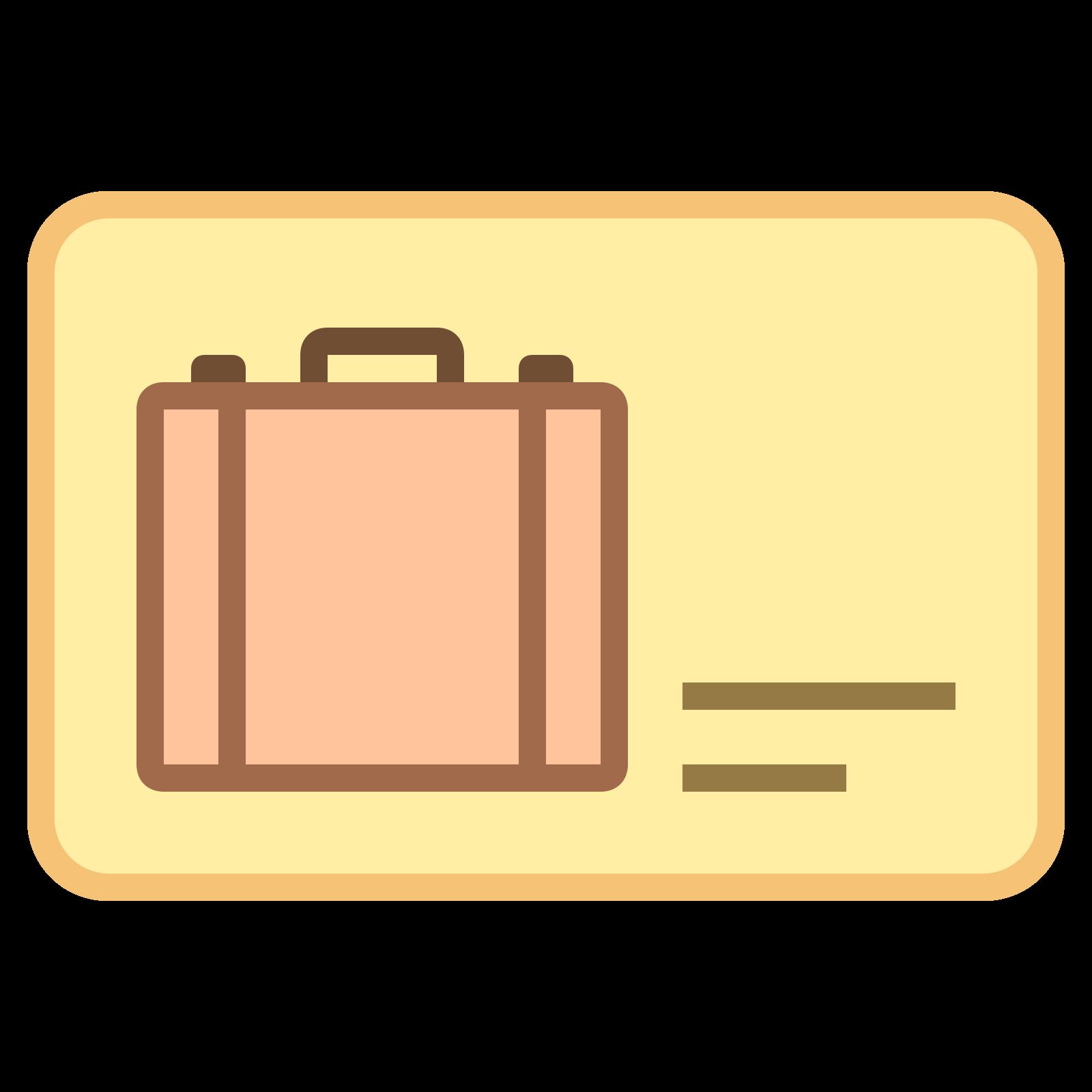 Carte de voyage icon