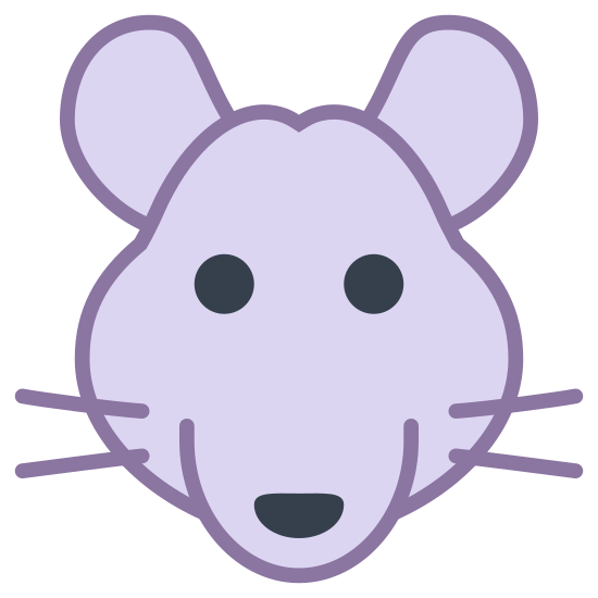 Rok Szczura icon. This is an icon depicting the year of the rat. It has an image of a rat