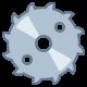 saw blade icon