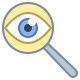 Magnifying Glass Detective icon