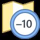Timezone -10 icon