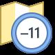 Timezone -11 icon