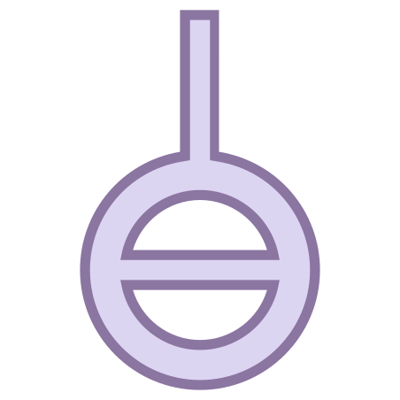 Agender Symbol icon in Office