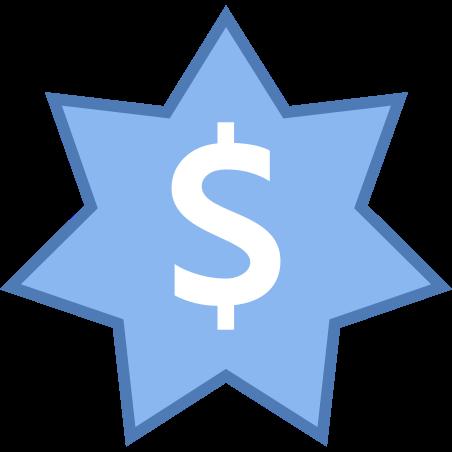 Dollar australien icon