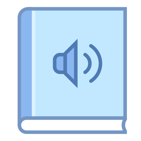 Audio Book icon in Office