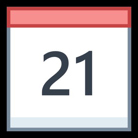Calendar 21 icon