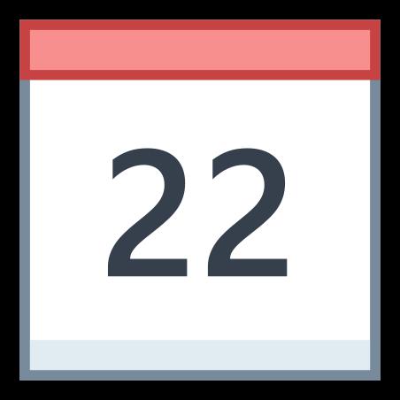 Calendar 22 icon