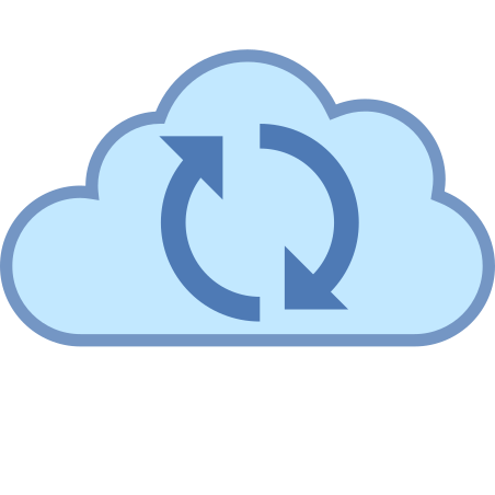 Cloud Sync icon in Office