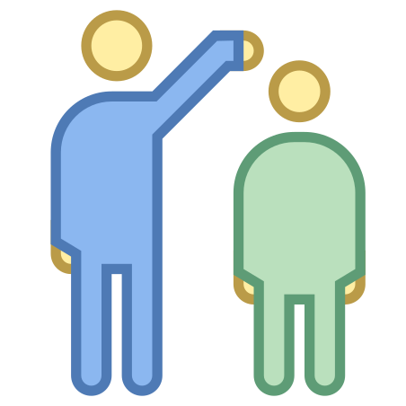 Compare Heights icon in Office