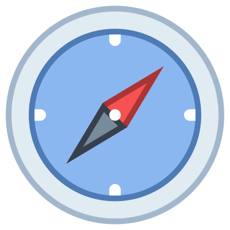 Compass icon in Office