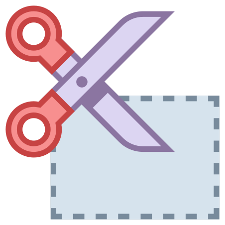 クーポンを切断 icon