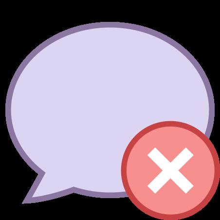 Delete Message icon