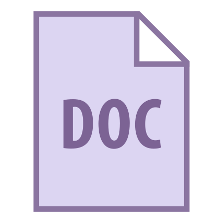 DOC icon in Office
