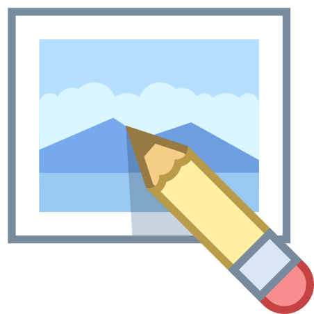 Edit Image icon in Office