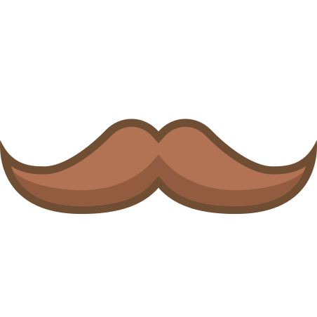 English Mustache icon