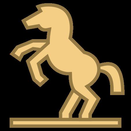 Equestrian Statue icon in Office