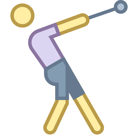 Hammer Throw icon in Office