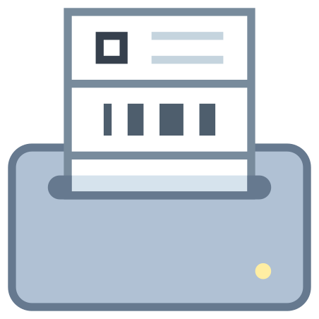 Label Printer icon in Office