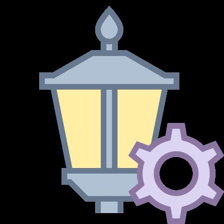 Lamp Post Settings icon