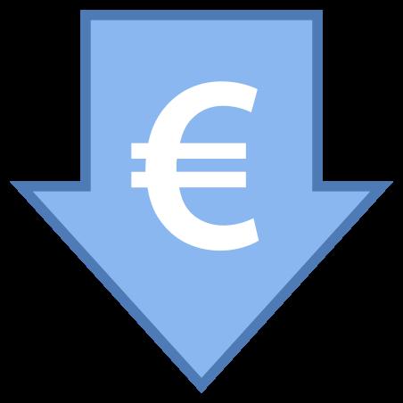Low Price Euro icon