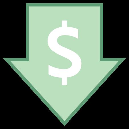 저렴한 가격 icon