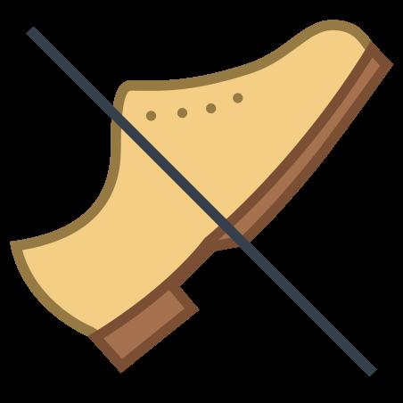 No Shoes icon