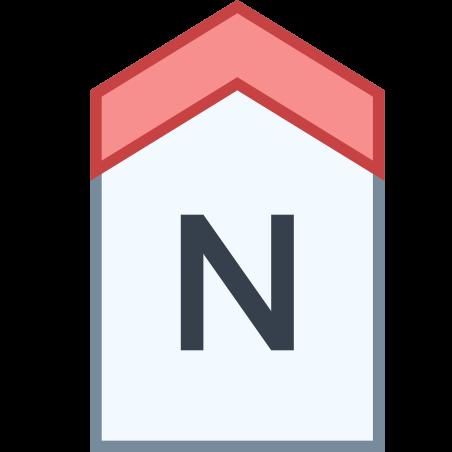 북쪽 icon