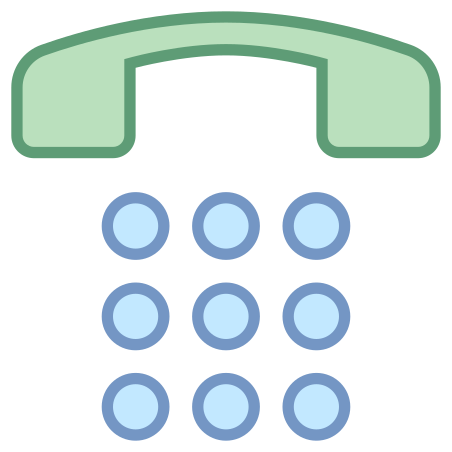 숫자 패드 icon