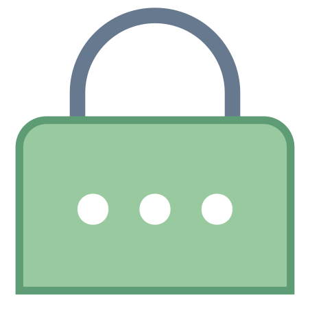 Password icon in Office