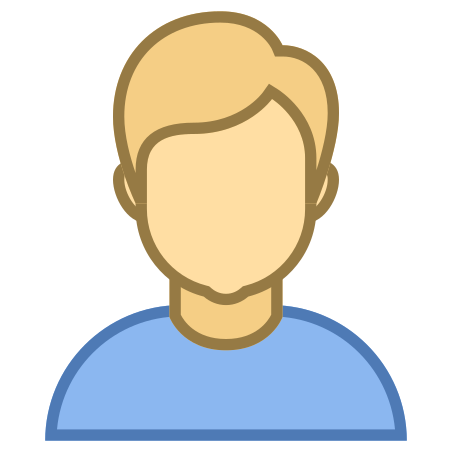 Person Male Skin Type 3 icon in Office