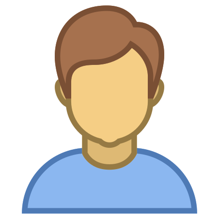Person Male Skin Type 4 icon in Office