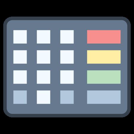 Pincode Keyboard icon