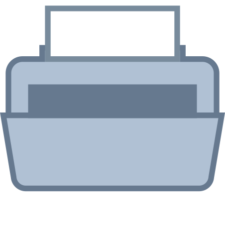 Printer icon in Office