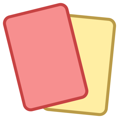 Red Card icon