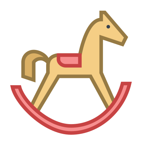 Cheval à bascule icon