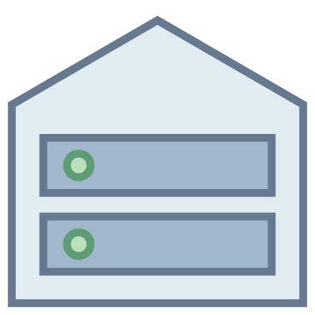 Root Server icon in Office