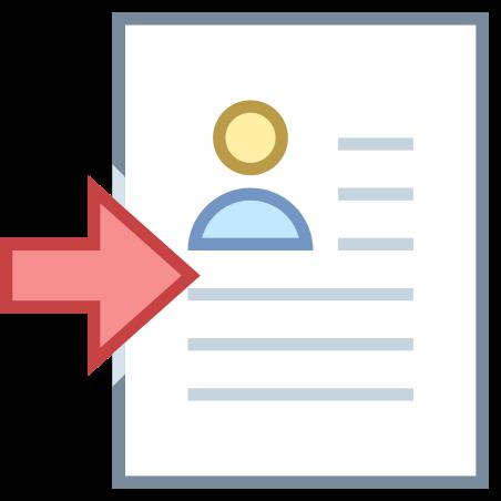 이력서으로 설정 icon