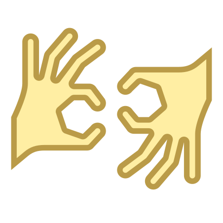 Sign Language icon in Office