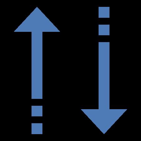 並べ替え矢印 icon