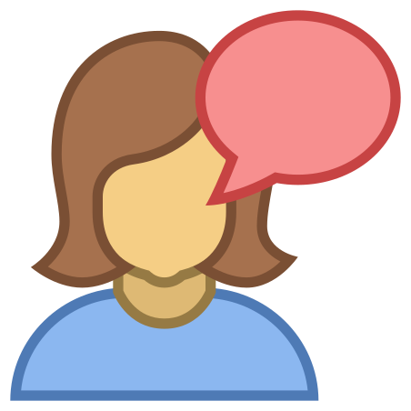Talk icon in Office