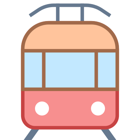 Tram icon in Office