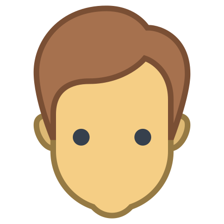 User Male Skin Type 4 icon in Office