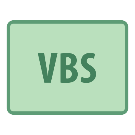 VBS icon in Office
