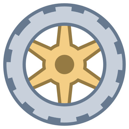 Wheel icon in Office