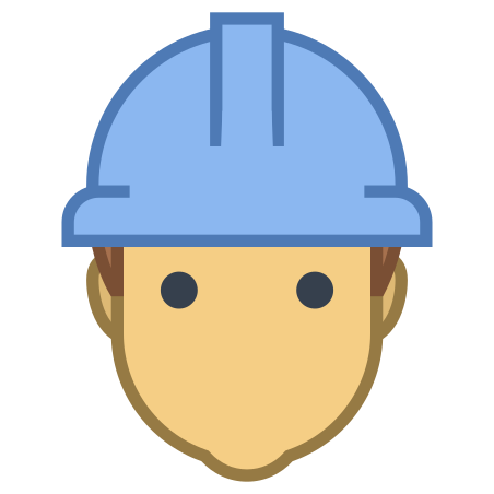 Worker icon in Office