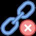 Usuń link icon