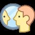 Osoba w lustrze icon