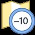 Timezone +10 icon